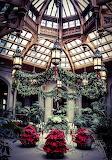 Christmas Atrium Biltmore Estate