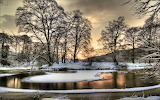 Atardecer en invierno
