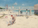 Charles Conder, A holiday at Mentone, 1888