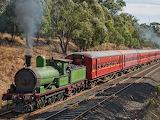 Y112 built 1889 for Victorian Railways, Australia. 63 inch gauge
