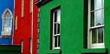 Colored houses Ireland