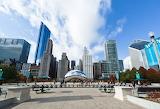Millennium-park-in-downtown-chicago