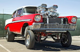56 Chev twin Superchargers MOD