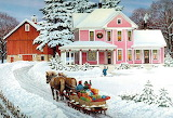 John Sloane, Christmas Art @ Pinterest...