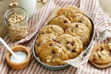 ^ Salty peanut chocolate chip cookies