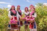 girls at the Bulgarian Rose Festival