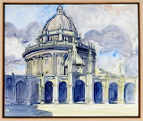 The Radcliffe Camera, Oxford from All Souls Betty Sadleir