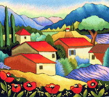 Trish Burr needle painting