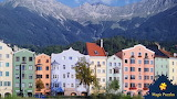 Flats in the mountains surrounding Innsbruck, Austria by David G