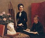 Henri Fantin-Latour, portraits , 1879