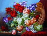 ☺♥ Flower painting...