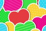 Abstract Hearts @ Pixabay...