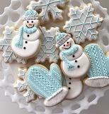 snowmen & mittens