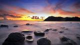 Sunset at Ko Kut Island. Thailand