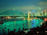 Sydney Harbor at Dusk, Australia