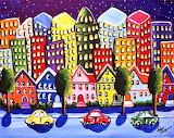#Busy City by Renie Britenbucher