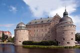 Örebro Castle, Sweden, day time shot