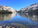 Lake and Rock Mountains