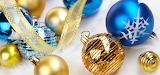 *Blue & Gold Christmas...