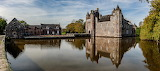 ^ France Castles Pond Houses Chateau de Trecesson Morbihan