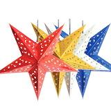 ^ Christmas hanging stars