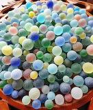 Round sea glass