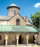 Oldest part Armenian Cathedral of Lviv