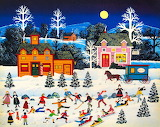 Frosty Frolics by Jane Wooster Scott