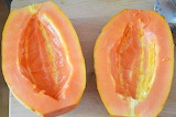 Rotate the papaya @ Veg-Eats