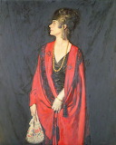 The Red Burnous, by Howard Somerville (1873 - 1952)
