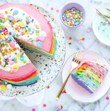 Crepes with Sprinkles