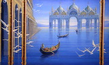 Sailing Through Venice by Brigid Marlin