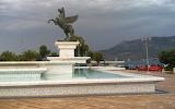 Pegasus Fountain in New Corinth