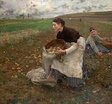 October. Jules Bastien-Lepage 1878