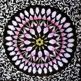 Flower Mandala, gerbera-daisy-gazania-tulip-alstroemeria, Kathy