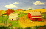 Fall at the Farm~ Patty Welsh