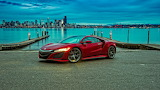 Red Acura NSX