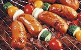 Saucisses-barbecue