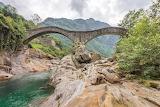 Bridge-river-rocks-valley-Switzerland