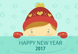 Happy New Year 2017 Cutie