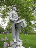 The Drummer Boy, Greenwood Cemetery, New York