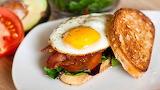 ^ Breakfast BLT sandwich