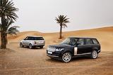 Land Rover en la arena