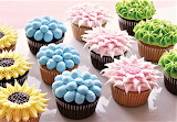 #Floral Cupcakes