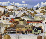 Winter Village -Hallmark