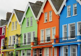 Ireland-the colorful houses