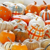 Plaid Pumpkins...