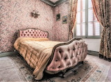 Pink bedroom abandoned house
