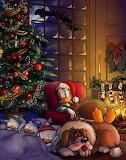 Donald`s peaceful christmasnight