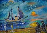 Fishermen by David Burliuk